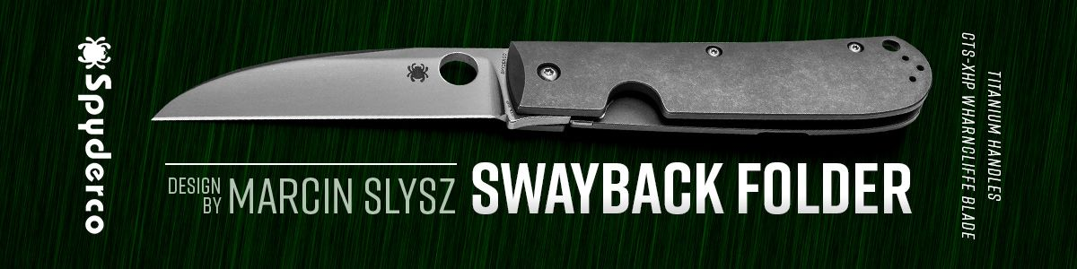 Shop for Spyderco Swayback Folders