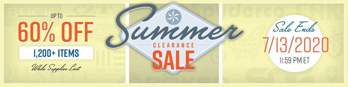 Shop Our Summer Clearance Sale!