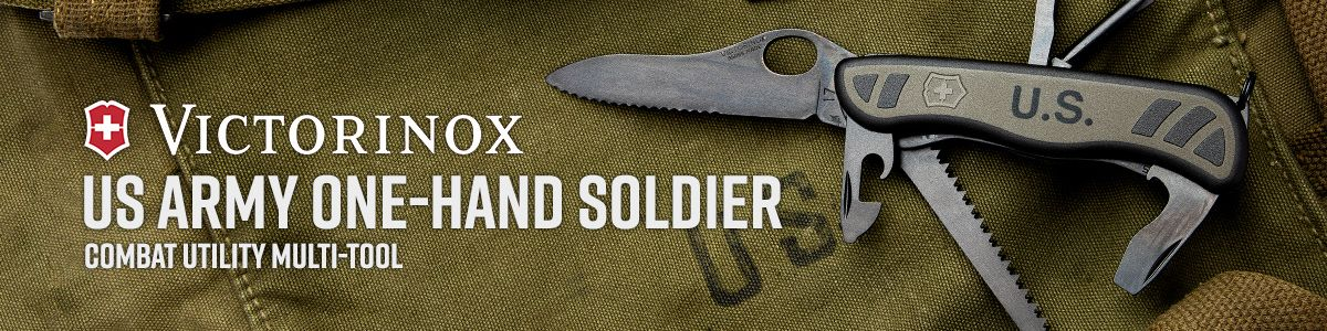 Shop Victorinox Swiss Army US Army One-Hand Soldier