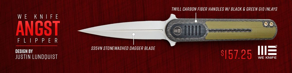 Shop for WE Knife Angst Flipper