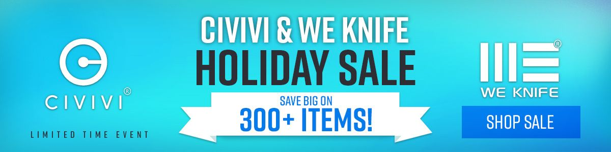 Shop Our CIVIVI and WE Pre-Black Friday Sale