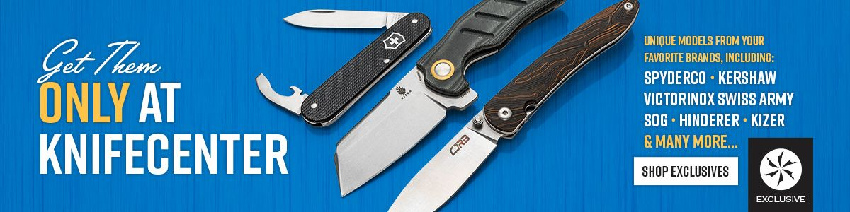 Shop All In-Stock KnifeCenter Exclusives!