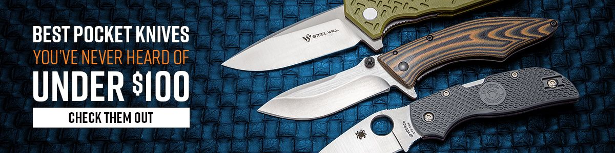 Shop for the Best Pocket Knives You've Never Heard Of Under $100