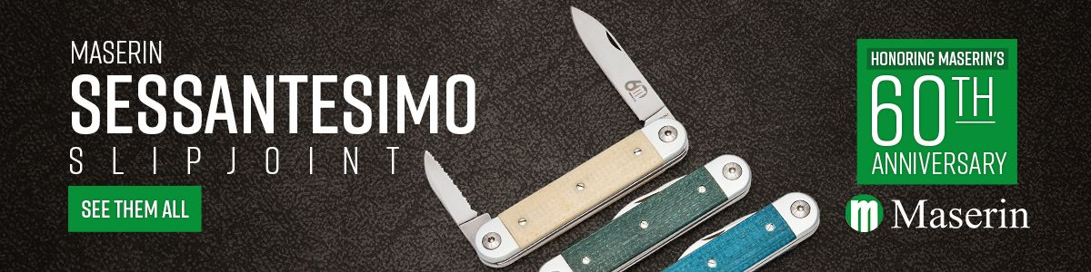 Shop for Maserin Sessantesimo Slipjoint Knives