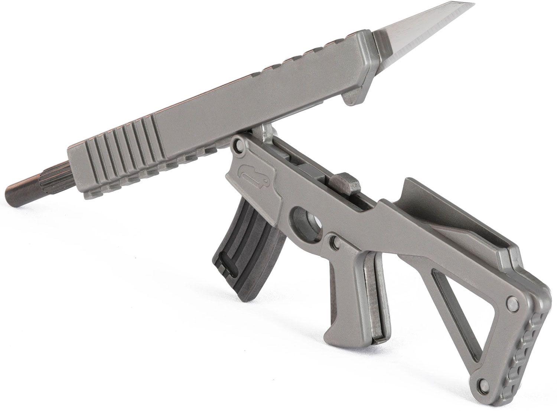 3Coil Design Studios Puna Mini Multi-Tool, Replaceable #11 Razor Blade, 3.98 inch Overall