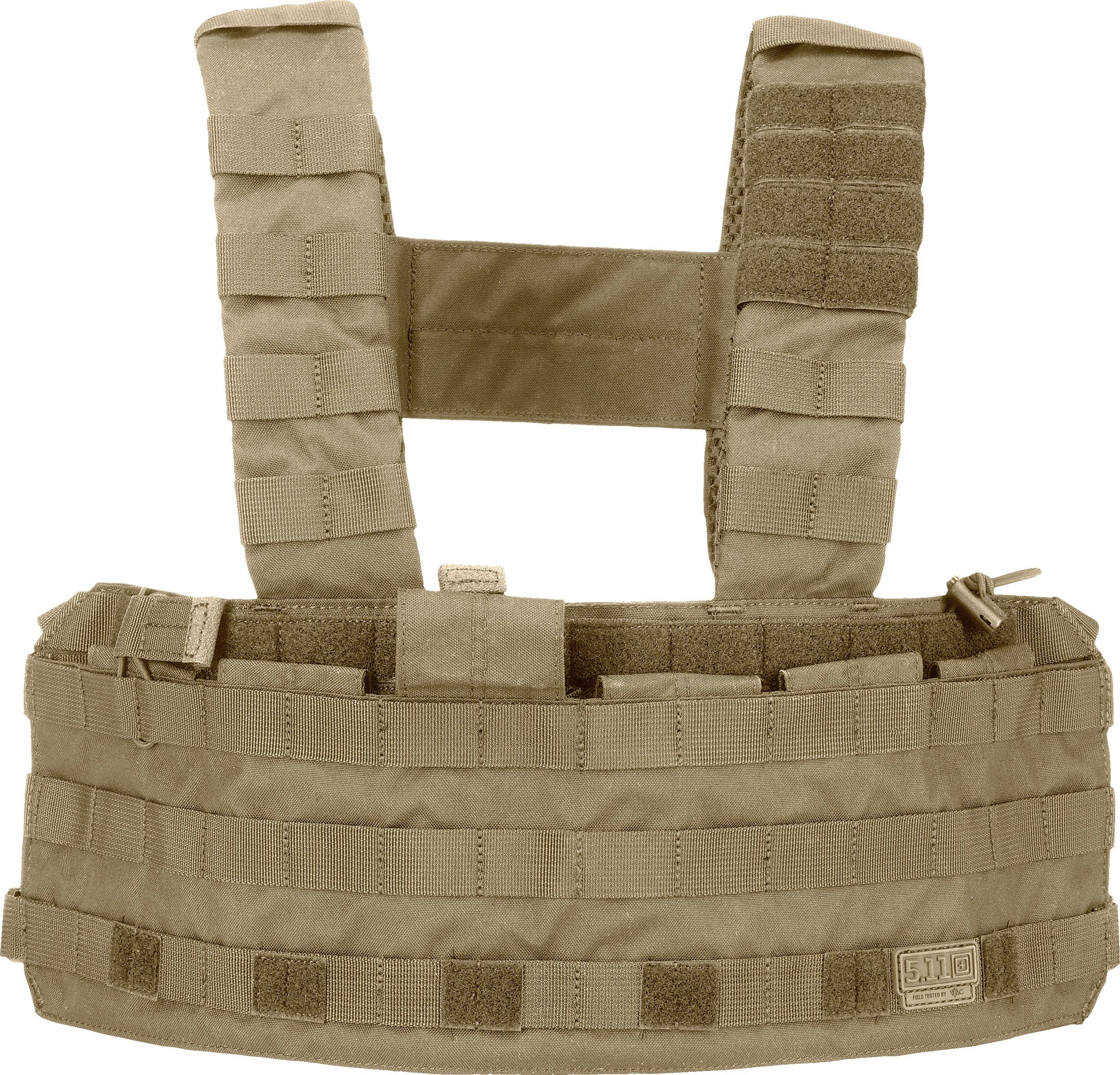 5.11 Tactical TacTec Tactical Chest Rig, Sandstone (56061-328)