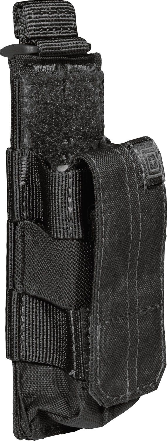 5.11 Tactical Single Pistol Bungee/Cover, Black (56154-019)