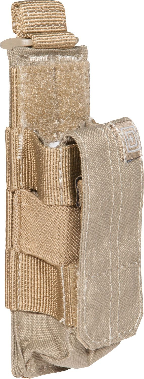 5.11 Tactical Single Pistol Bungee/Cover, Sandstone (56154-328)