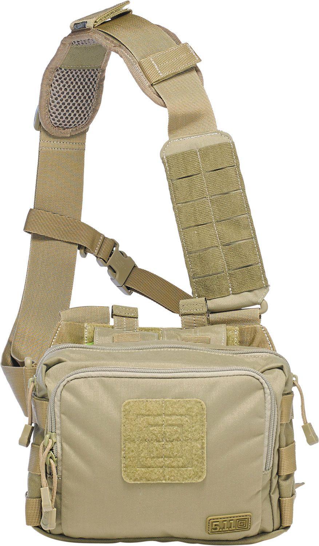5.11 Tactical 2-Banger Bag, Sandstone (56180-328)
