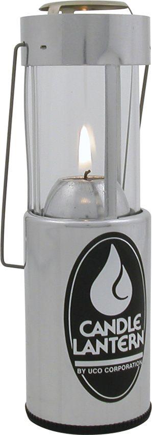 UCO Original Candle Lantern, Silver Aluminum, 20 Max Lumens
