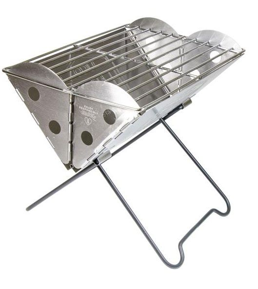 UCO Mini Flatpack Grill and Fire Pit with Travel Case