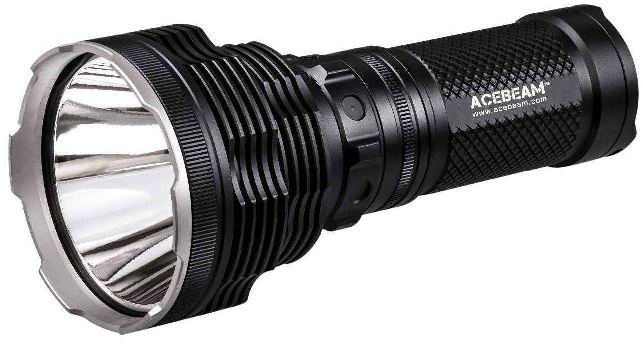 AceBeam K70 LED Flashlight, Black, 2600 Max Lumens