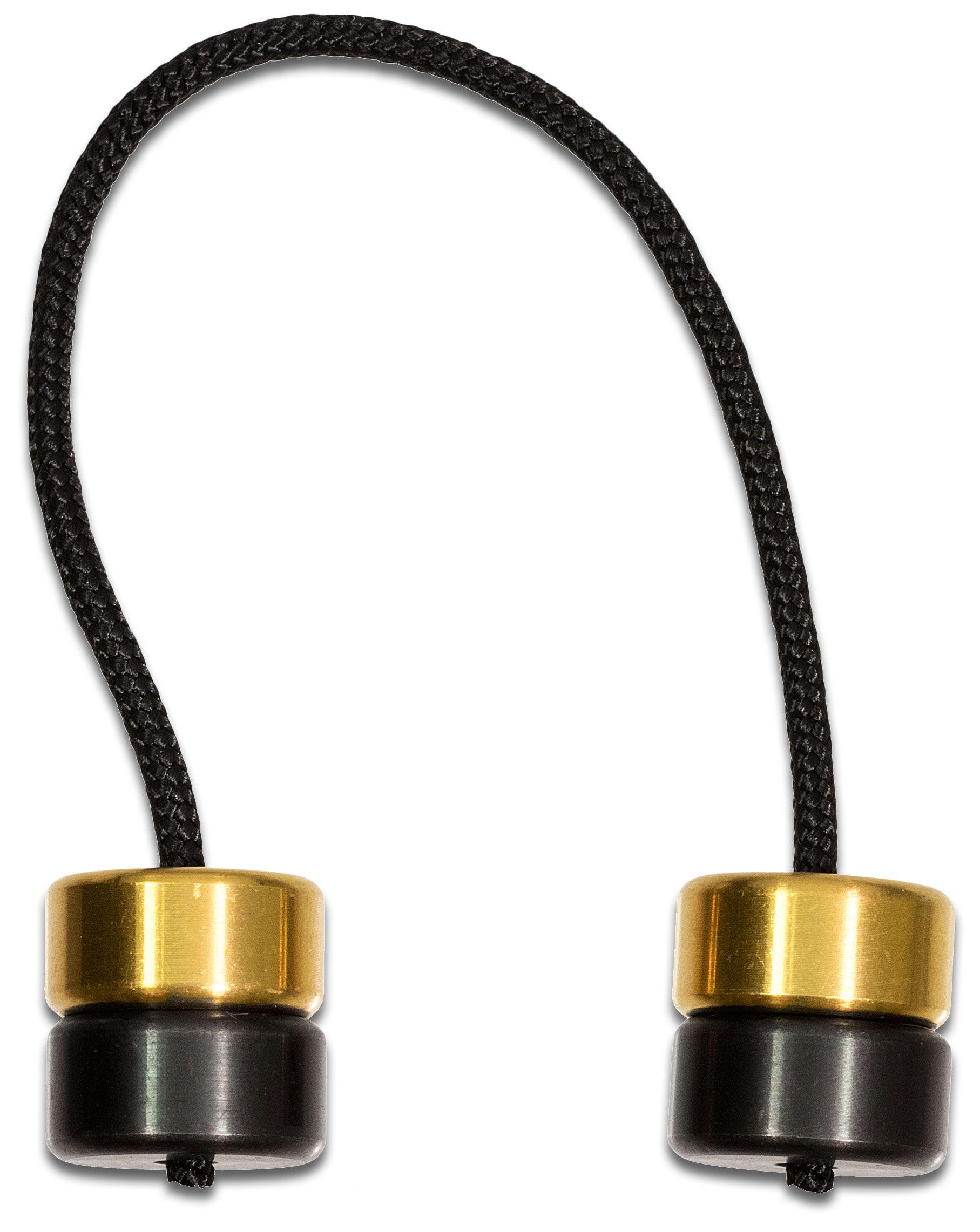 Aroundsquare AO2 Crude Country Hydra Titanium Begleri, Business Class Gold and Black Shinobi PVD Mix