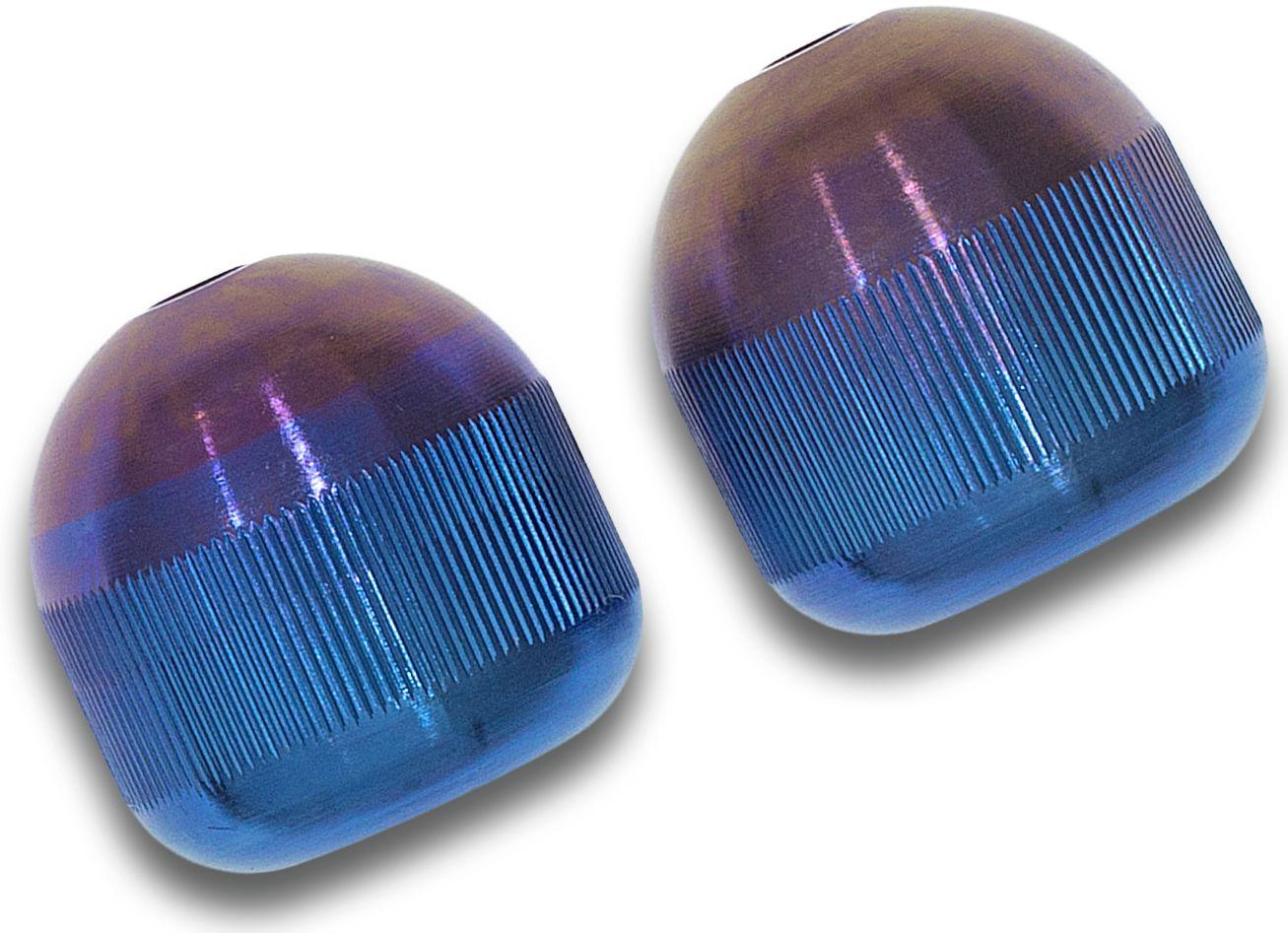 Aroundsquare AO2 Customized Titan Begleri, Purple to Blue Fade Grahamodized