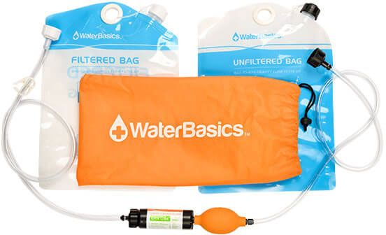 Aquamira WaterBasics Bag-To-Bag Filtration Kit