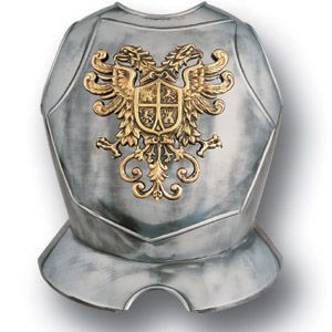 Armaduras Steel Breastplate w/Double Eagle Crest