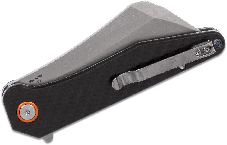 Artisan Osprey Folder 3.74 in D2 Green G-10 Handle for sale online