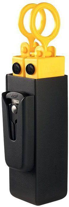 ASP 56226 Adjustable Black Snap Lock Belt Tri-Fold Holder W// Scarab Cutter