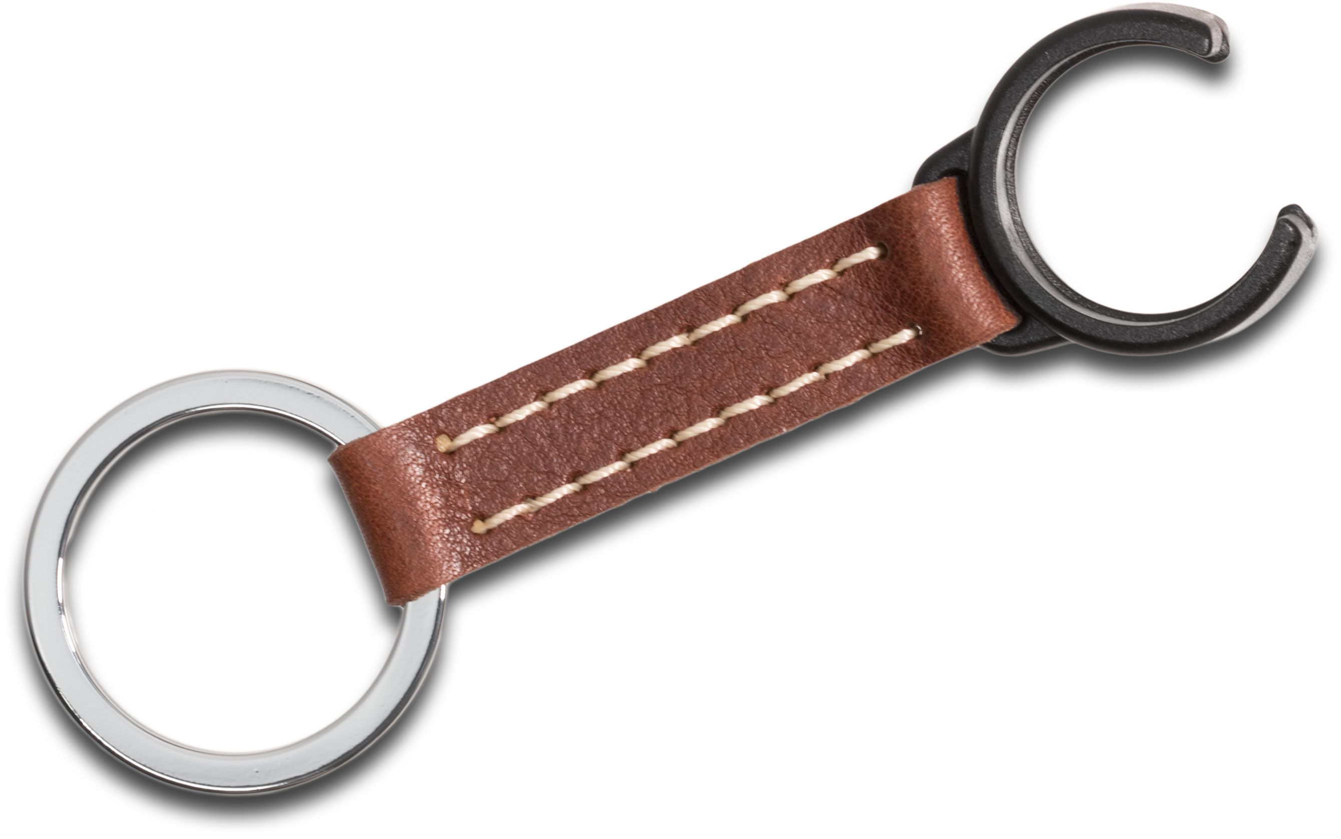 ASP Concealable Baton Keyring Clip, Brown