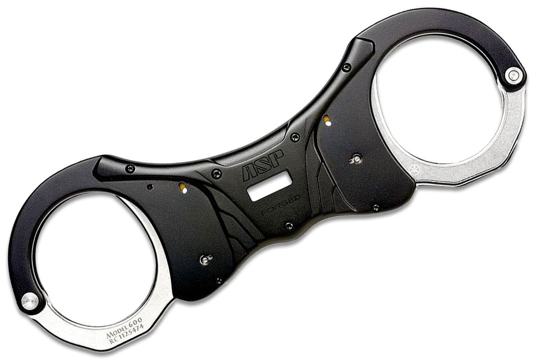 ASP Ultra Rigid Handcuffs, Steel, Black