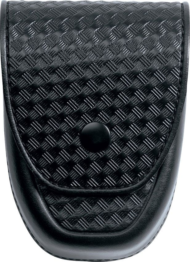 ASP Handcuff Duty Case, Basketweave Leather