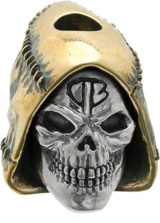 Bastinelli Creations Reaper Bead, Silver/Bronze