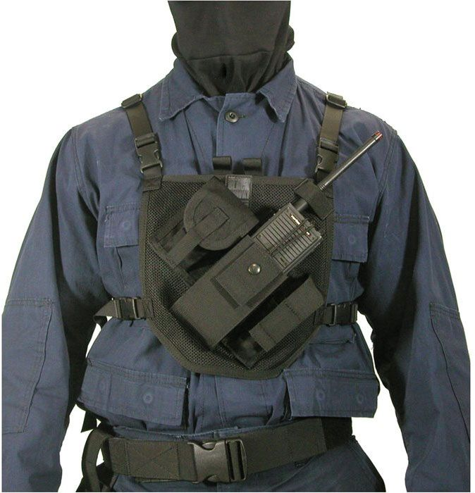 BLACKHAWK! Patrol Radio Harness, Black