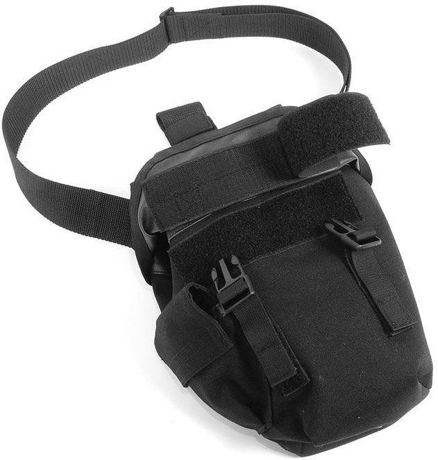 BLACKHAWK! Omega Elite Gas Mask Pouch, Black