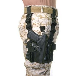 BLACKHAWK! Tactical Serpa Holster, RH, Black, 1911