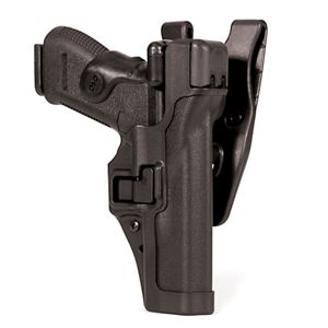 BLACKHAWK! Level 3 Serpa Duty Holster, RH, Black, H&K P30