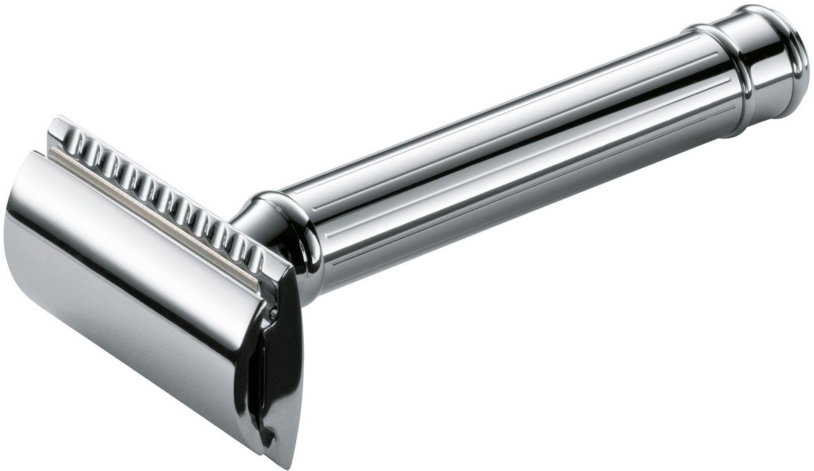 Boker Classic Safety Razor, Chrome, Made in Germany