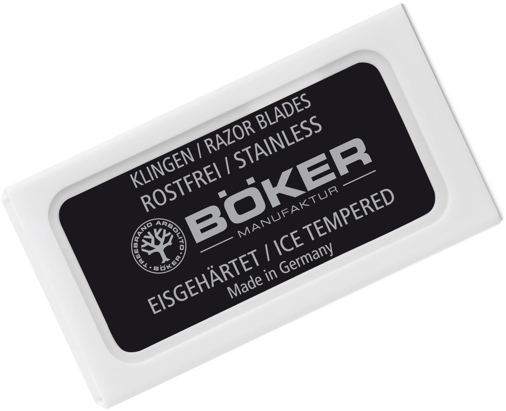 Boker Replacement Safety Razor Blades, 10 Pack
