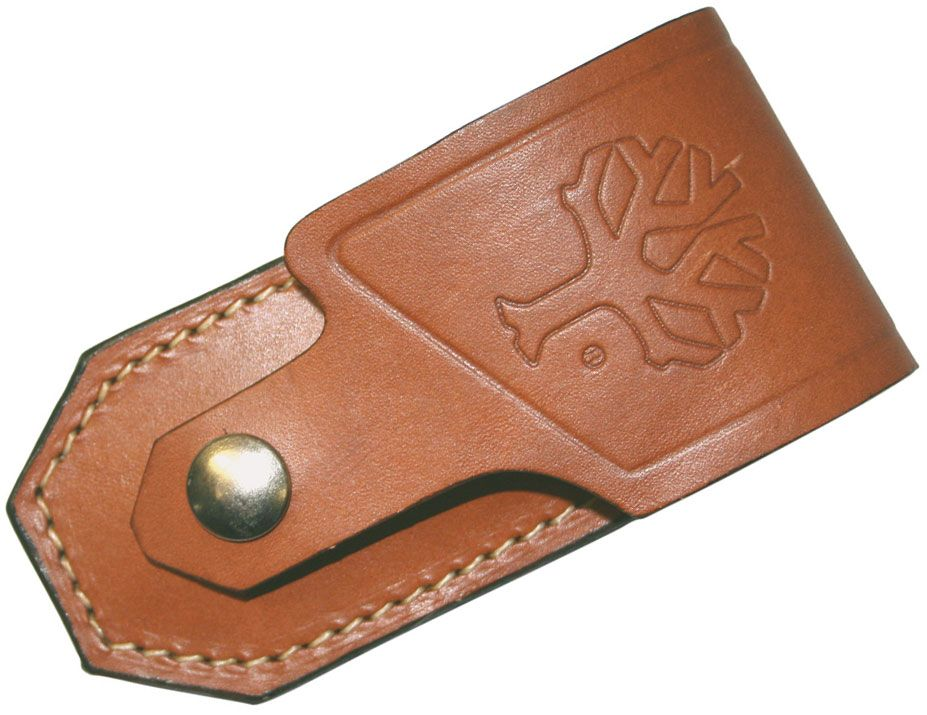 Boker 090033 Leather Belt Sheath Fits 112002 Pocket Knife Series
