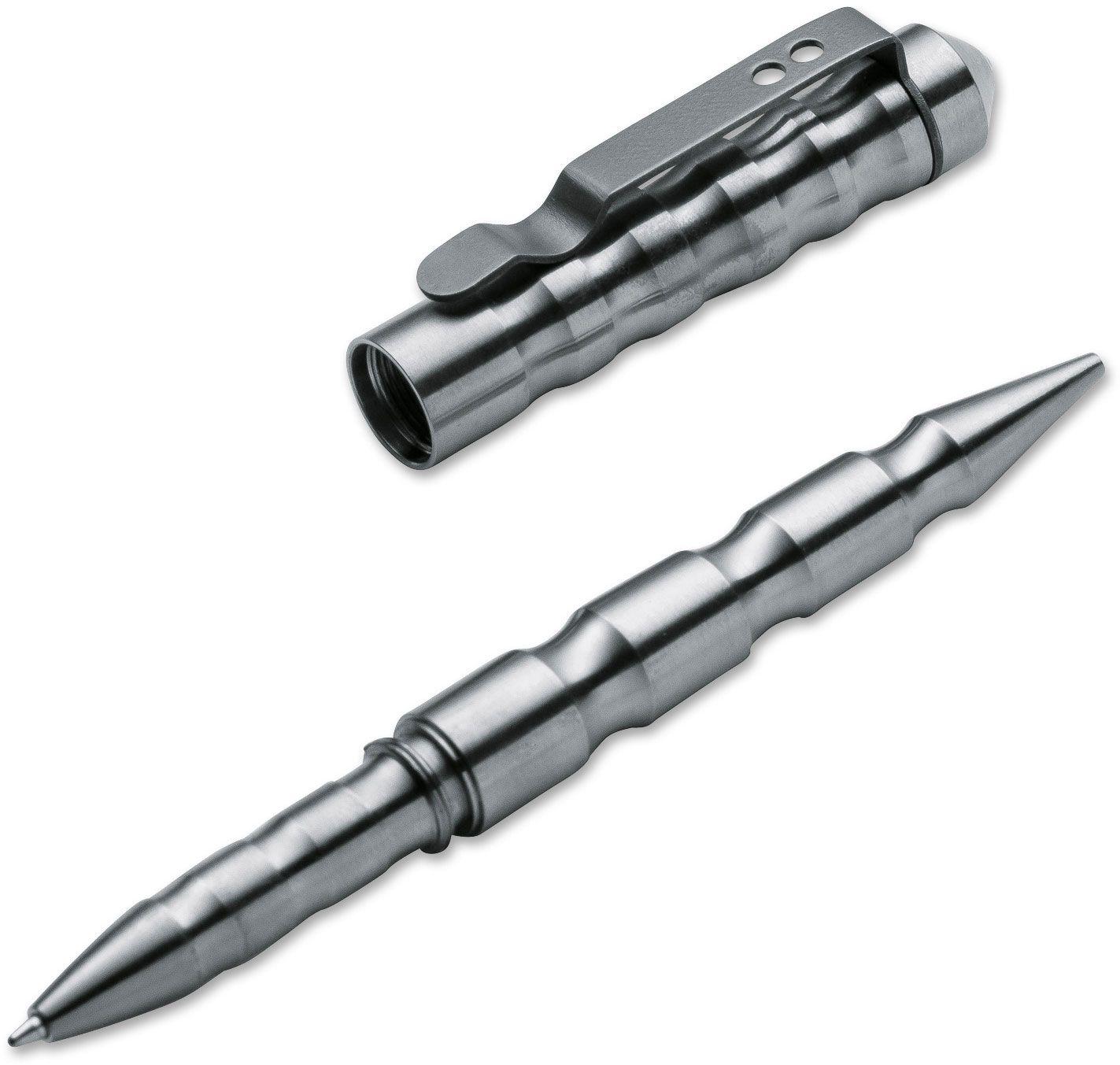Boker Plus MPP Multi-Purpose Tactical Pen, Satin Titanium