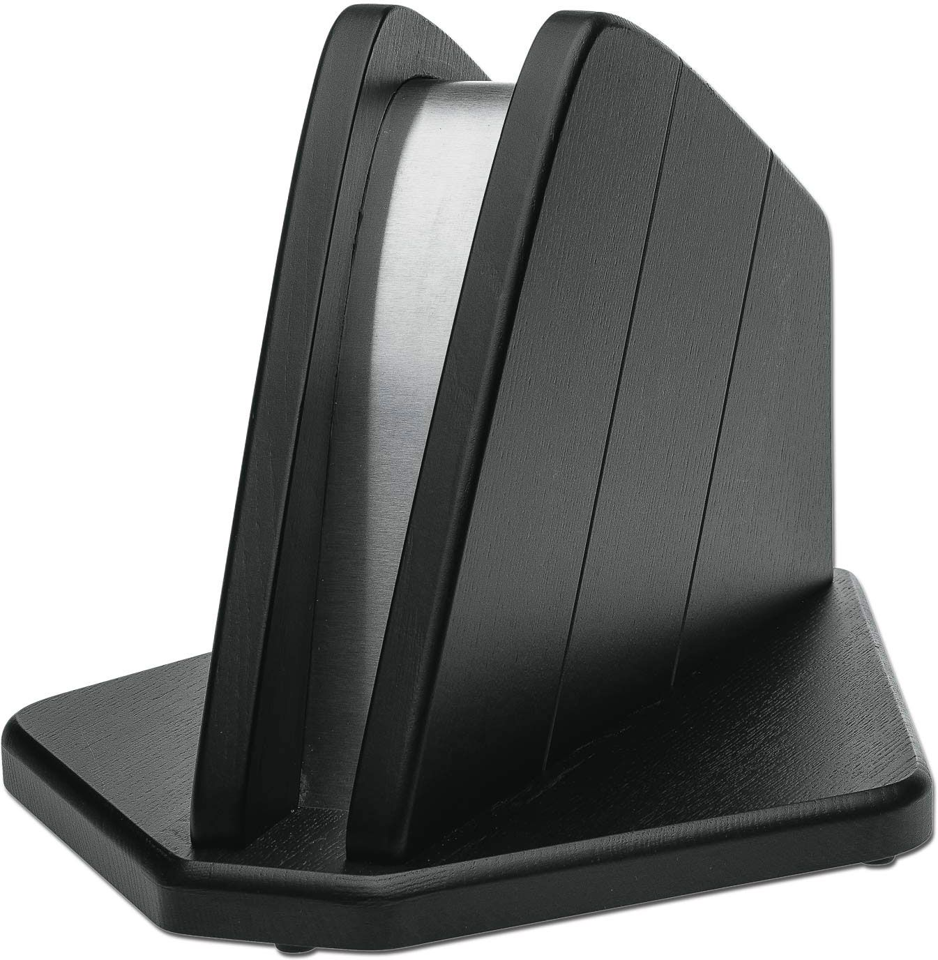 Boker Forge Series Magnetic Kitchen Knife Block, Black