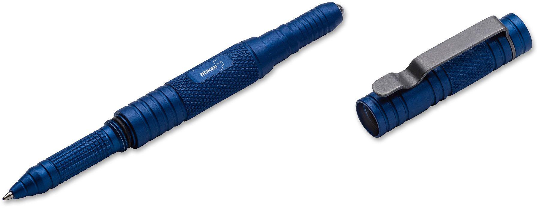 Boker Plus Tactical Pen, Blue Aluminum