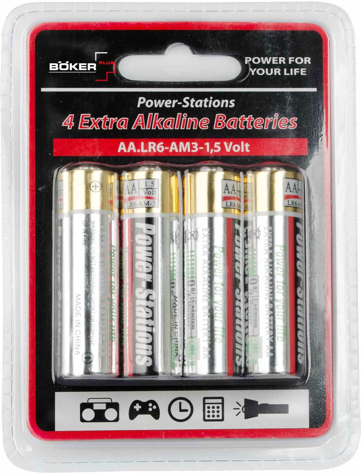 Boker Plus Pack of Four AA Batteries