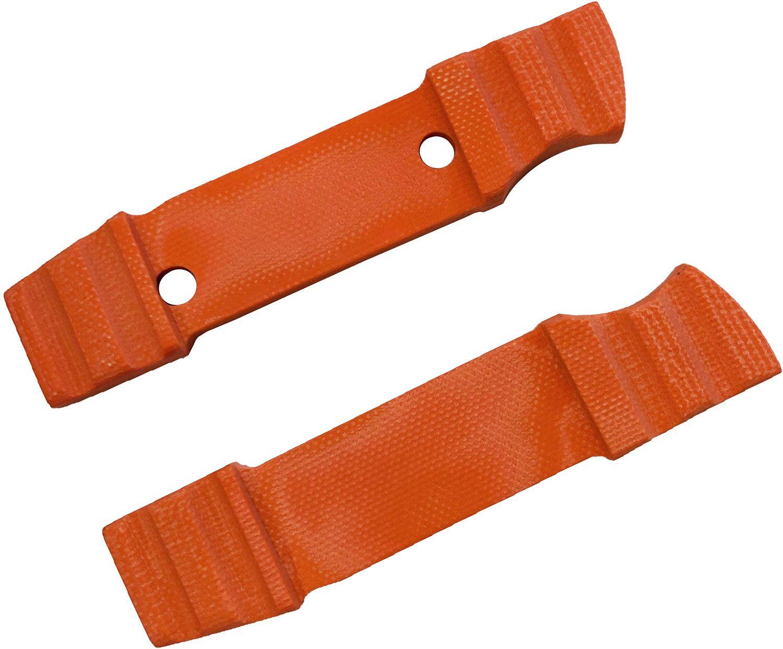 Boker Bender Orange Micarta Handle Scales (Knife Not Included)