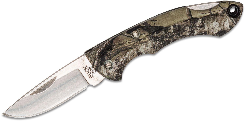 Buck 283 Nano Bantam Folding Knife 1-7/8 inch Blade, RealTree Xtra Camo Nylon Handles