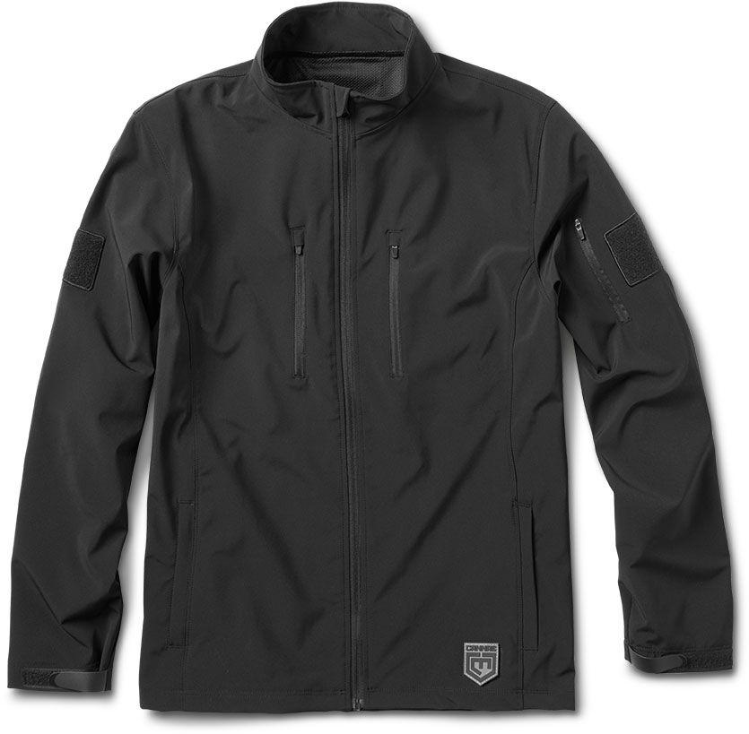 Cannae Pro Gear Shield Soft Shell Jacket, Black, Large