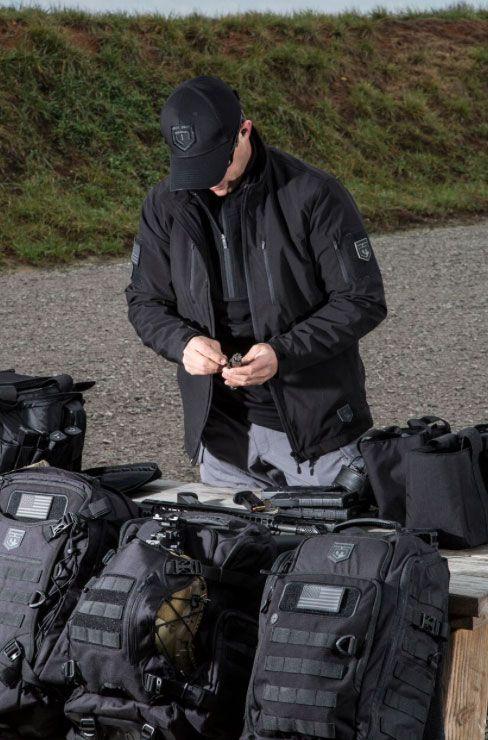 Cannae Pro Gear The Shield Soft Shell Jacket X-Large Black