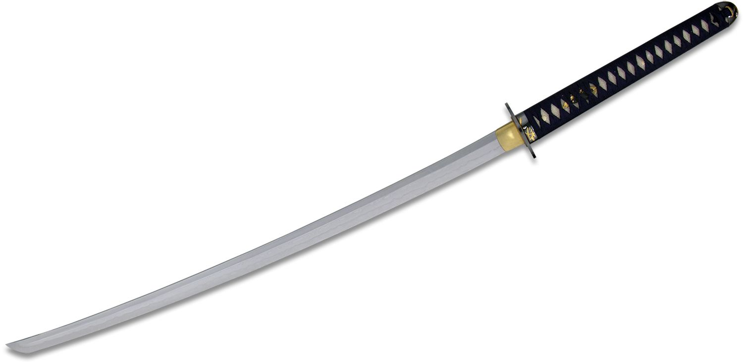CAS Hanwei Orchid Katana Hand Forged And Folded Steel Blade