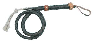 Brown Leather Bullwhip 75 inch Good Quality Whip