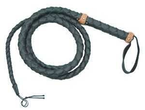 Black  inchLeatherette inch Bullwhip 100 inch A Recreational Whip