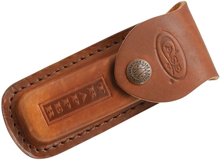 Case Genuine Leather Sheath for Trapper Knives