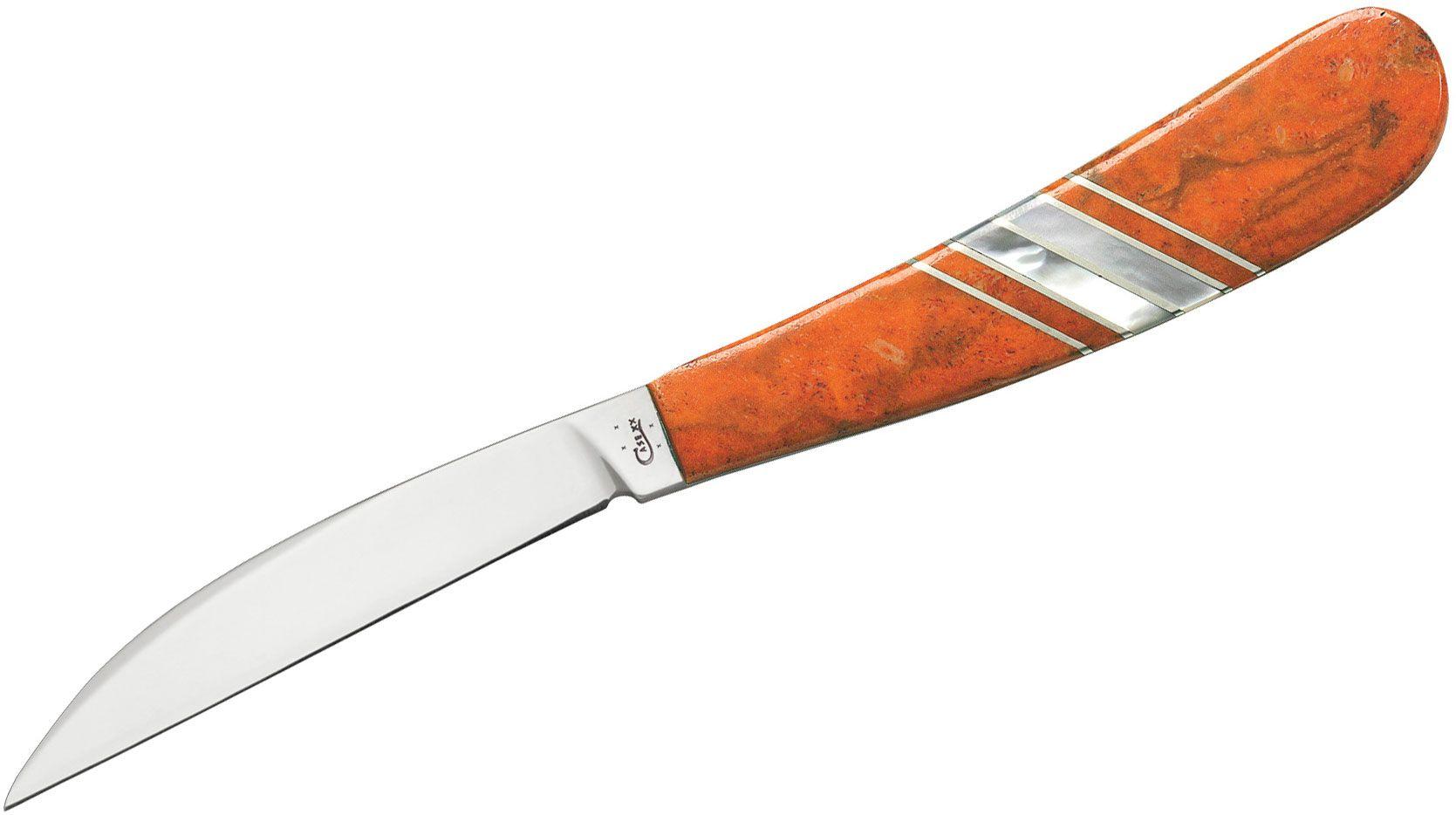 Case 11109 Exotic Orange Coral Desk Knife (EX17-3 154-CM)