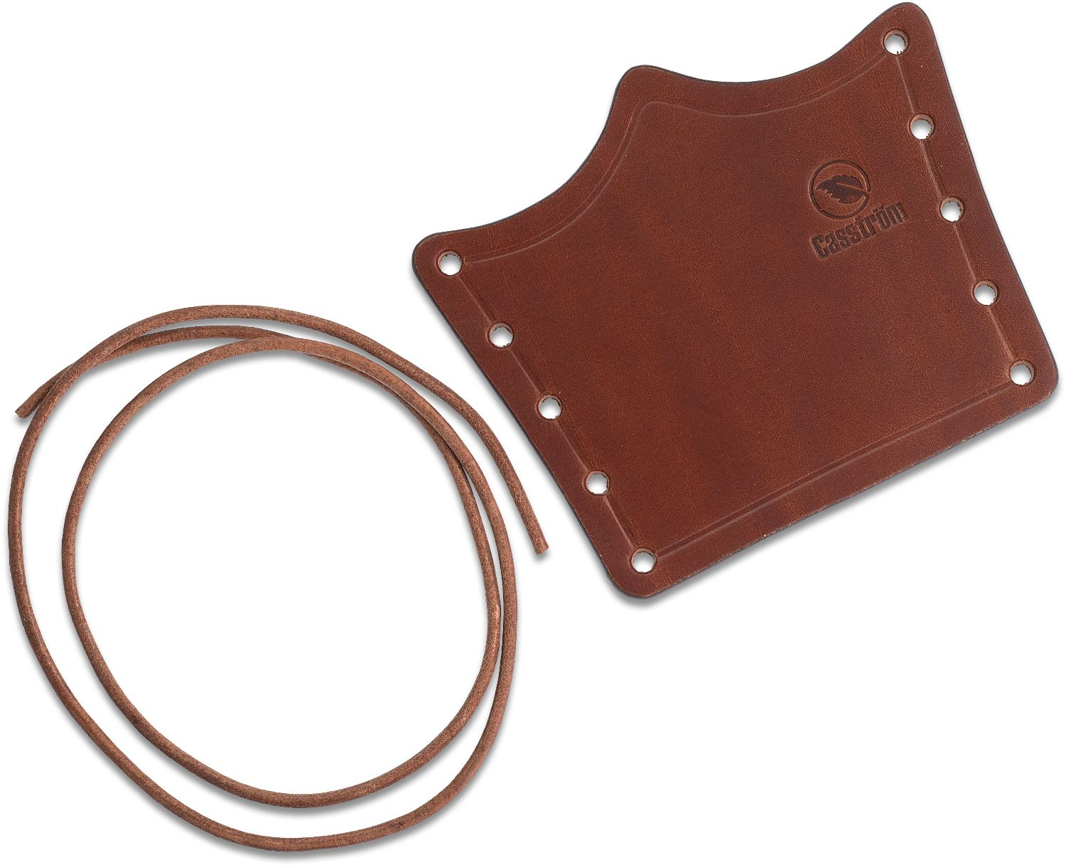 Casstrom Sweden Overstrike Axe Collar, Cognac Brown