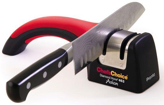 Chef's Choice Pronto Manual Diamond Hone Asian Knife Sharpener Model 463