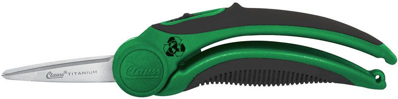 Clauss Enviro-Line Titanium Bonded 6 inch Spring-Assisted Scissor (Recycled Materials)