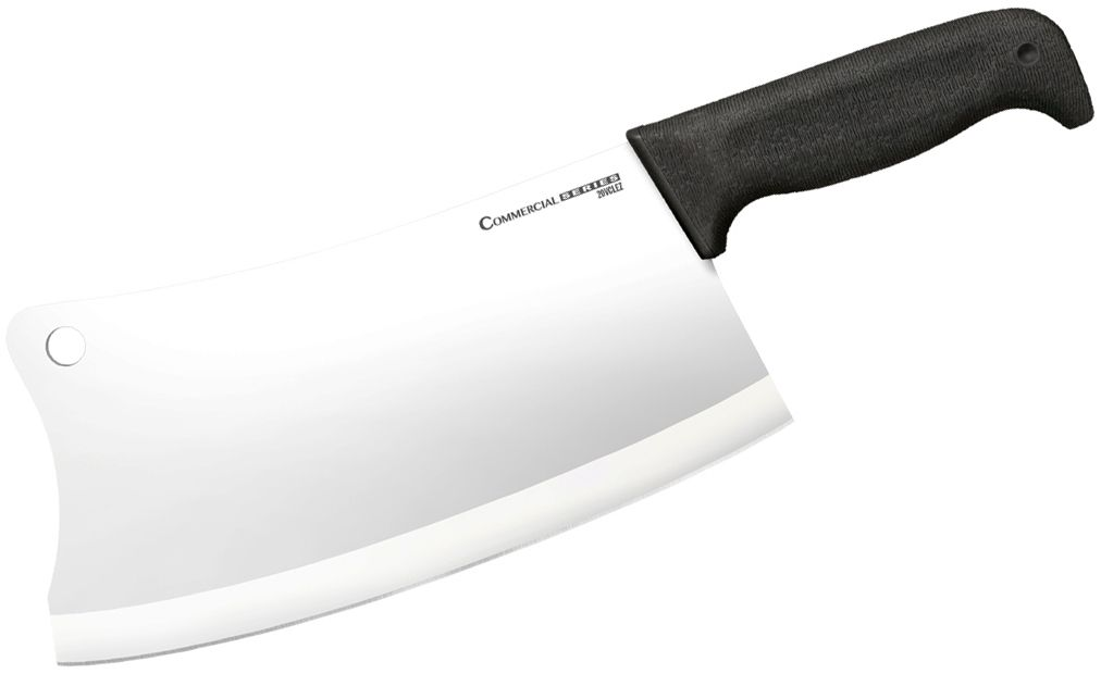 Cold Steel 20VCLEZ Commercial Series Cleaver 9 inch 4116 Stainless Blade, Kray-Ex Handle
